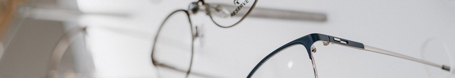 oprawki okularów - Banner